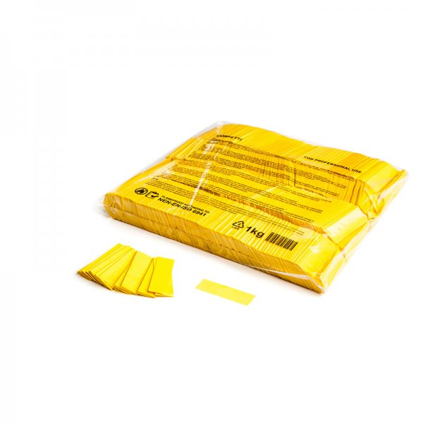 MFX Papier Confetti Gelb 55mm x 17 mm 1 kg