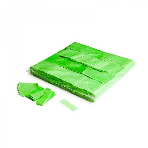 MFX Papier Confetti Fluo Grün 55mm x 17 mm 1 kg