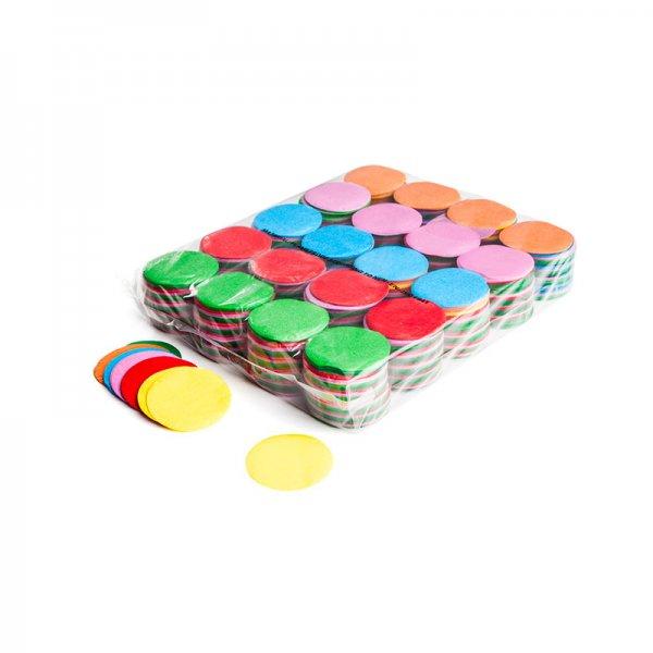 MFX Papier Confetti Multicolour Rund 55mm 1kg