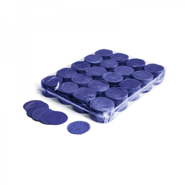 MFX Papier Confetti Dunkel Blau Rund 55mm 1kg