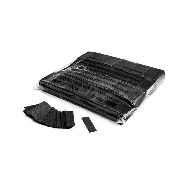 MFX Papier Confetti Schwarz 55mm x 17mm 1 kg