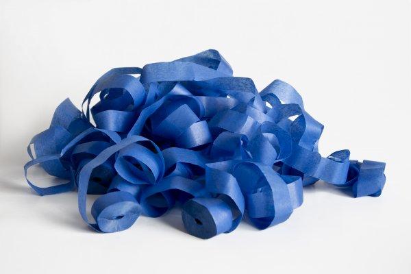 ConStream Papier Streamer Blau 5m x 8,5mm 100 Rollen
