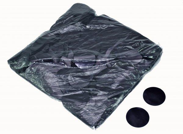 ConStream Metallic Confetti Schwarz 50mm Rund 1 Kg